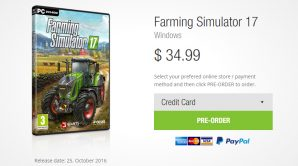 Цена на игру Farming Simulator 2017