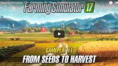 Farming Simulator 2017: видео геймплея