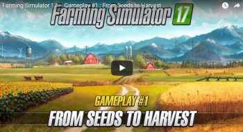 Farming Simulator 2017: видео геймплея