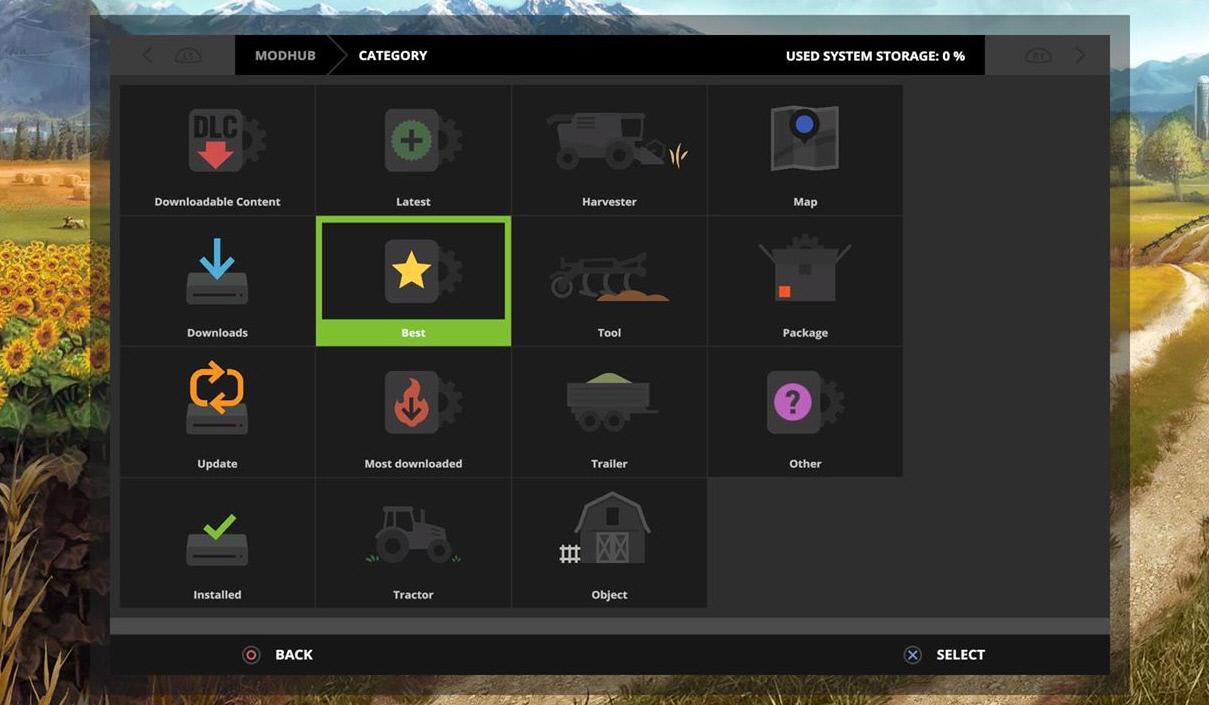 Новые возможности модов в игре Farming Simulator 17