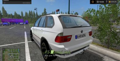 Мод BMW X5 15 Special Vehicle для FS 2017