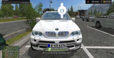 Скриншот мода BMW X5 15 Special Vehicle