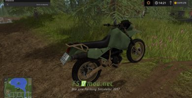 Kawasaki KR650 для игры Farming Simulator 2017