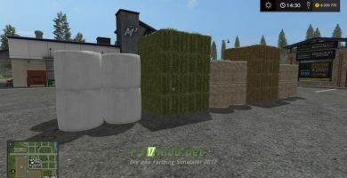 Мод Buy Bales для Farming Simulator 2017