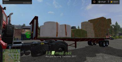 Прицеп для поддонов в Farming Simulator 2017