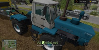 Мод трактора Кировец для Farming Simulator 2017