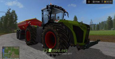 Мод трактора CLAAS XERION 5000