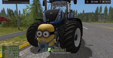 Противовес Minion Weight для Farming Simulator 2017