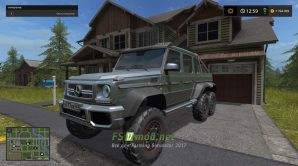 Скриншот мода Mercedes Benz G 65