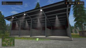 Farming Simulator 2017: мод гаража для тракторов