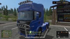 Тягач SCANIA R730 для FS 2017