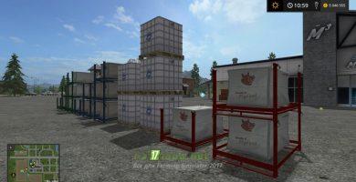Мод на покупку зерна, кормов и удобрений в Farming Simulator 2017