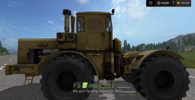 Старый трактор Кировец К-700 для Farming Simulator 2017