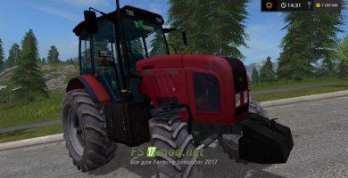 Мод Беларус-2022.3 для Farming Simulator 2017