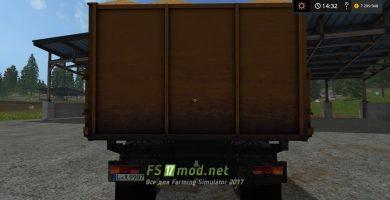 Kamaz Kipper для игры Farming Simulator 2017
