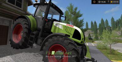 Фото мода трактора CLAAS ARION 620