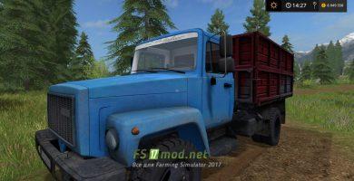 Грузовик ГАЗ 3307 для игры Фермер Симулятор 2017