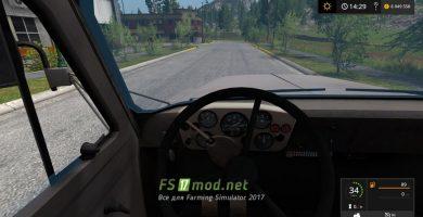 Мод ГАЗ-53 для Farming Simulator 2017