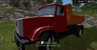 Мод грузовика ЗиЛ ММЗ-45085