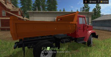 Мод ЗИЛ самосвал для игры Farming Simulator 2017