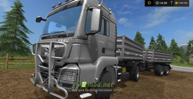 Мод MAN TGS 18.440 TIPPER PACK V1.0