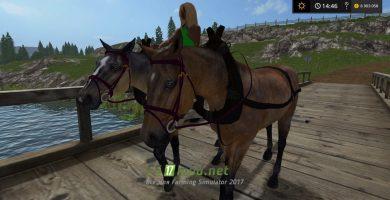 Мод лошадей для Фермер Симулятор 2017
