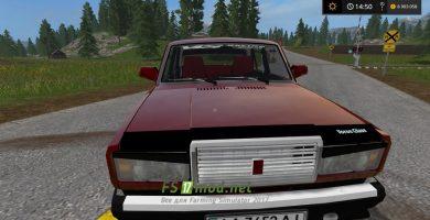 Мод автомобиля ВАЗ-2107 для Фермер Симулятор 2017