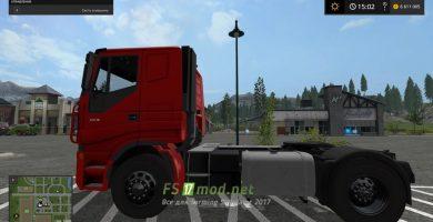 Мод грузовика Iveco Stralis Lowcab