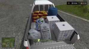 Мод автомобиля для заправки сеялки в Farming Simulator 2017