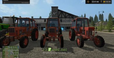 MTZ Pack для Farming Simulator 2017