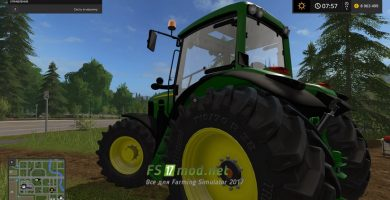 John Deere 7430 для игры Фермер Симулятор 2017