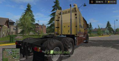 PeterbilT 579 для Farming Simulator 17