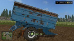 Прицеп для перевозки силоса в Farming Simulator 2017