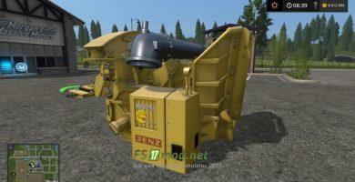 Корчеватель для игры Farming Simulator 2017