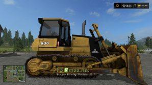 Мод бульдозера Rotech 830 для Farming Simulator 2017