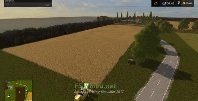 Карта Горшкова земля для игры Farming Simulator 2017