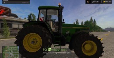 Мод трактора John Deere 7810 для Фермер Симулятора 2017