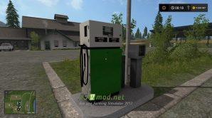 Мод заправочной станции для Farming Simulator 2017