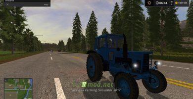 Отечественная техника (трафик) в игре Фермер Симулятор 2017