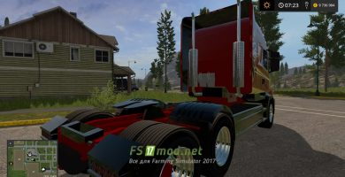 SCANIA T164 3-AXLE mods FS 2017