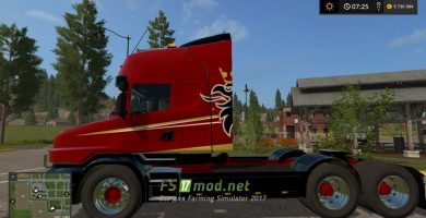 SCANIA T164 3-AXLE