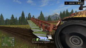 Плуг ПЛН 9х35 для Farming Simulator 2017