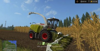 Claas Jaguar 980 для Farming Simulator 2017