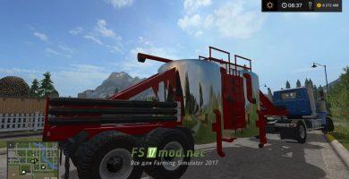 Прицеп для зерна в Farming Simulator 2017