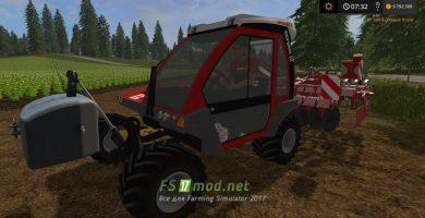 Мод Reform Metrac G5X — трактор для склонов