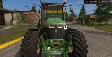 JOHN DEERE 5085M для Farming Simulator 2017