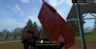Мод грузовика КАМАЗ 65115