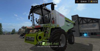 CLAAS LEXION 780 mods