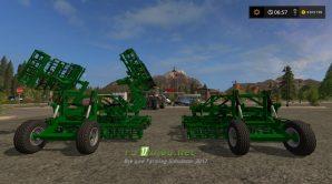 Два культиватора LAUMETRIS GERMINATOR для Farming Simulator 2017