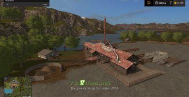 Мод на лесную карту Farming Simulator 2017